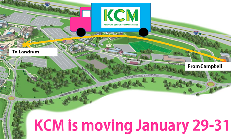 KCM is moving